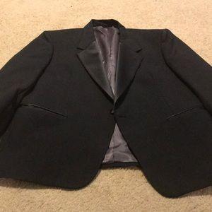 Christian Dior black dress jacket size 34R